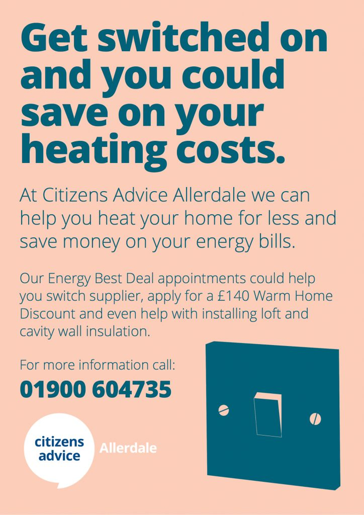 ALLERDALE Get Switched On A4 | Citizens Advice Allerdale